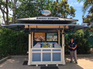DVC Tour Kiosk at Disney Springs