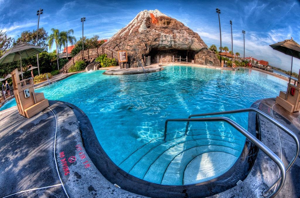 Pool at disney vacation club