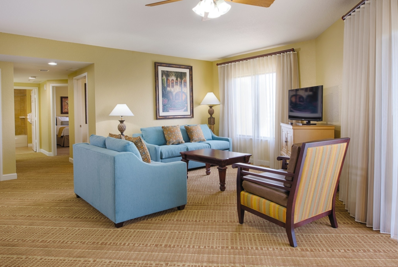 Wyndham Bonnet Creek Living Room