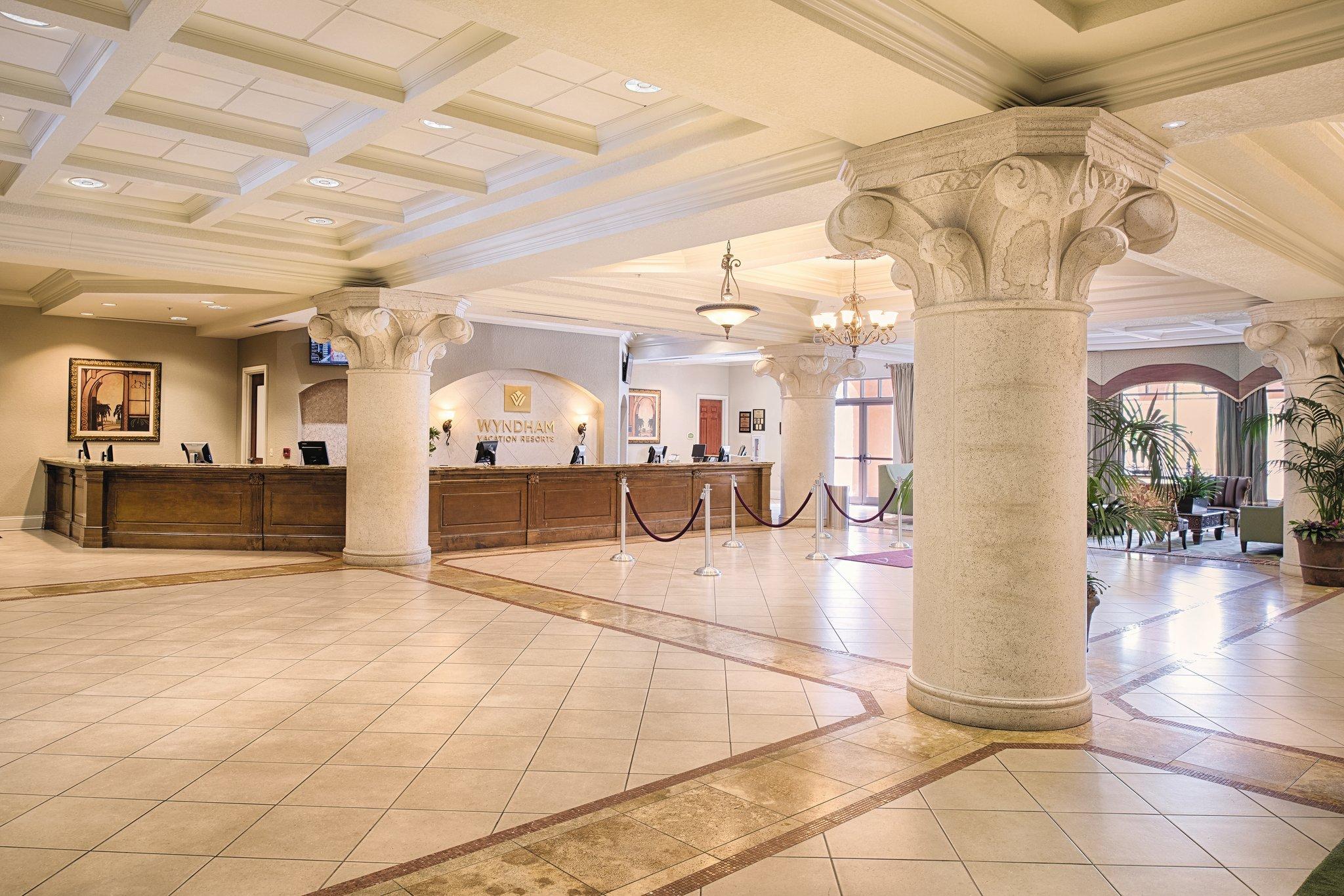 Wyndham Bonnet Creek Lobby