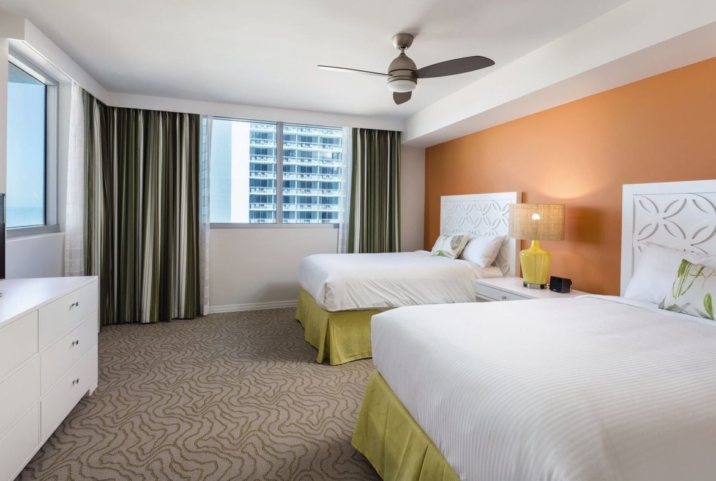 Wyndham Clearwater Beach Resort Double Bedroom