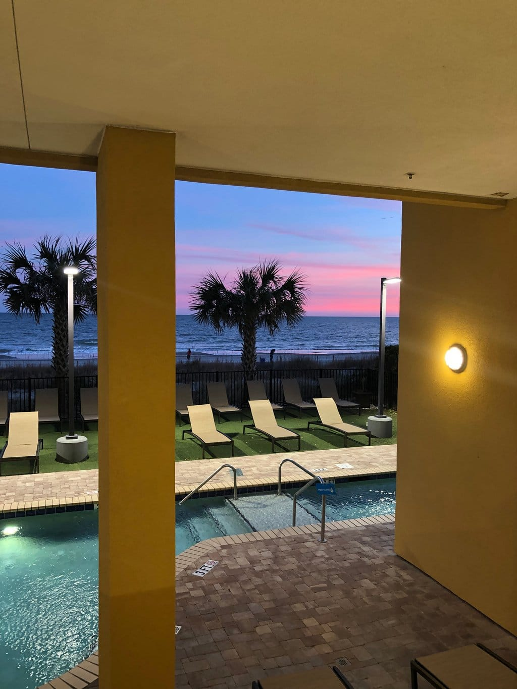 Anderson Ocean Club and Spa Pool View