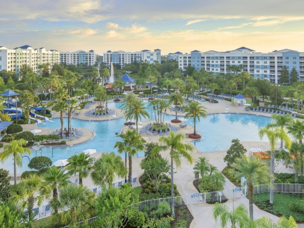 Bluegreen Vacations The Fountains Aerial