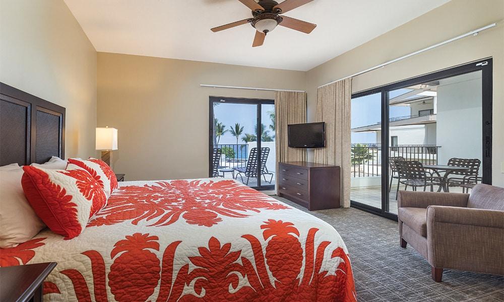 Club Wyndham Hawaii At Royal Sea Cliff 1 Bedroom Deluxe Bedroom