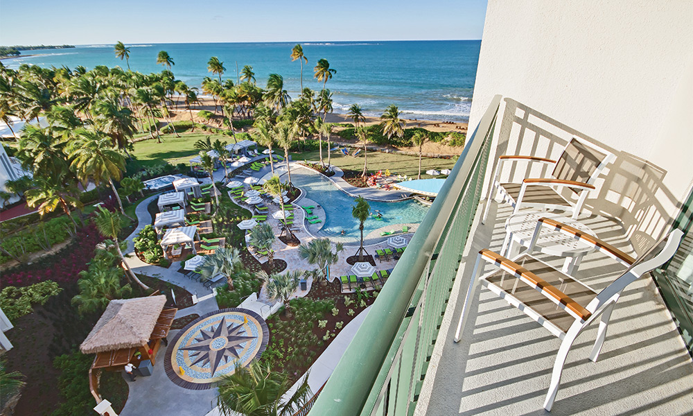 Club Wyndham Margaritaville Rio Mar 1 Bed Deluxe Mtn View Balcony
