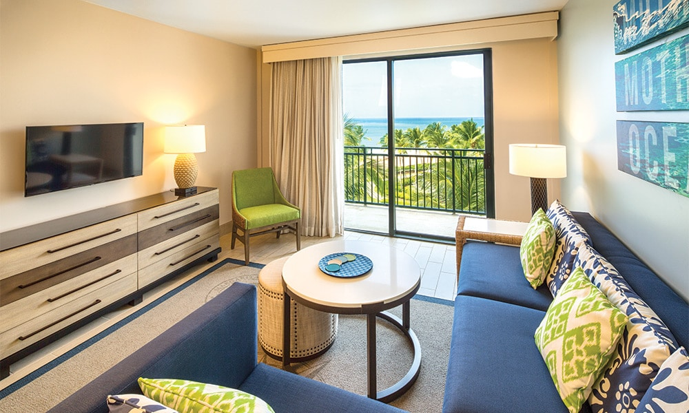 Club Wyndham Margaritaville Rio Mar 1 Bed Deluxe Mtn View Living