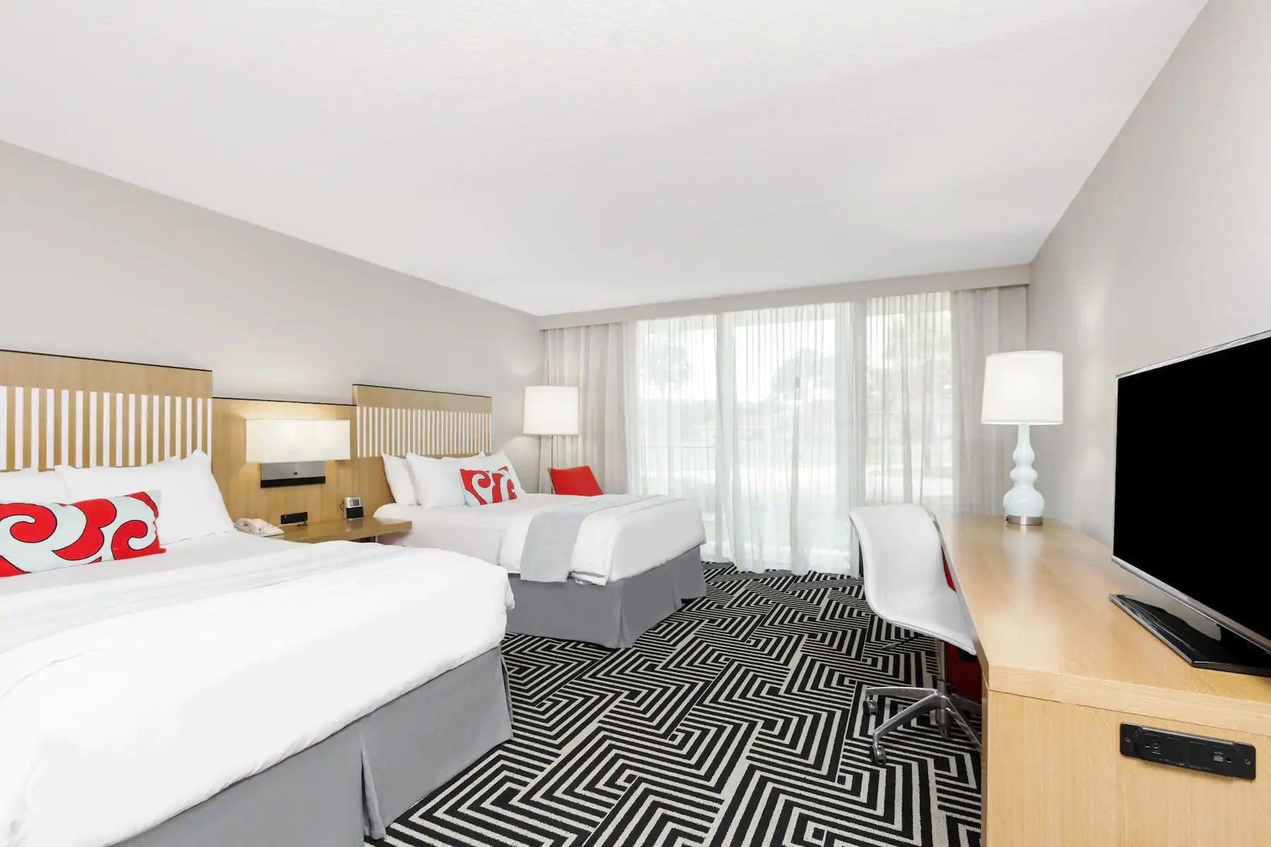 Club Wyndham Orlando Resort International Drive Double Bed