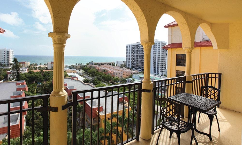 Club Wyndham Sea Garden Beach and Tennis Resort Balcony