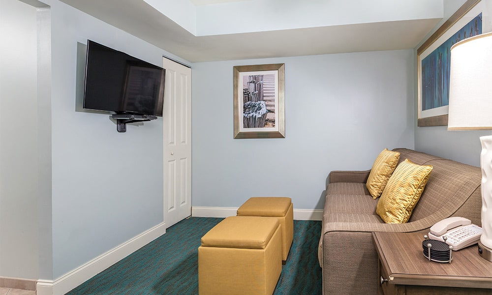 Club Wyndham Towers on the Grove 1 Bedroom Area