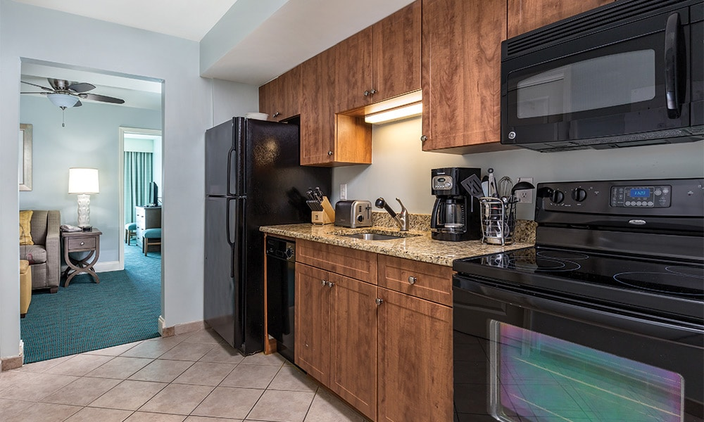 Club Wyndham Towers on the Grove 1 Bedroom Kitchen