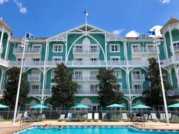 Disney's Beach Club Villas Exterior