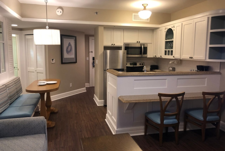 Disney's Beach Club Villas Kitchen and Dining
