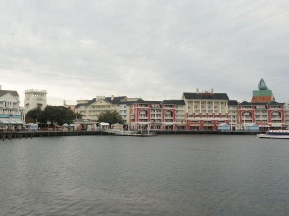 Disney's Boardwalk Villas Exterior View
