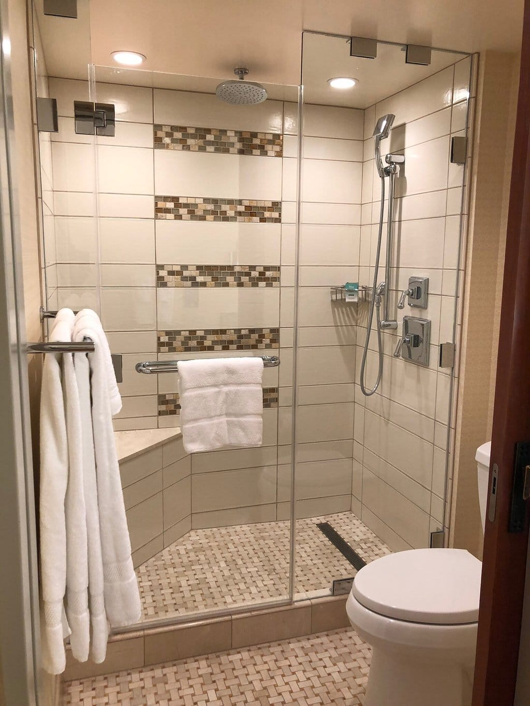 Disney's Grand Californian Resort Bathroom Shower