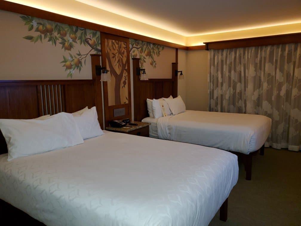 Disney's Grand Californian Resort Double Bedroom