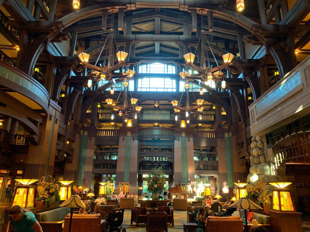 Disney's Grand Californian Resort Lobby Area