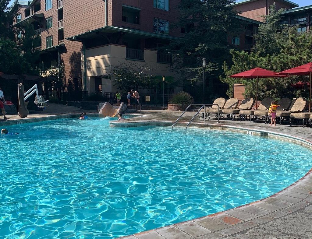 Disney's Grand Californian Resort Pool Area