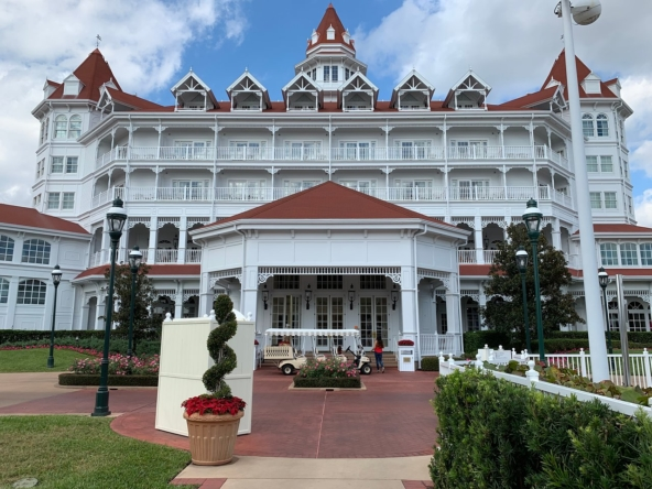 Disney's Grand Floridian Resort and Spa Entrance