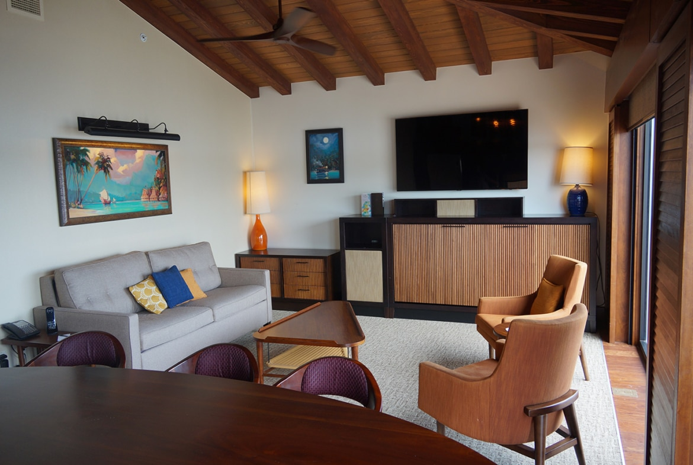 Disney's Polynesian Villas and Bungalows Living