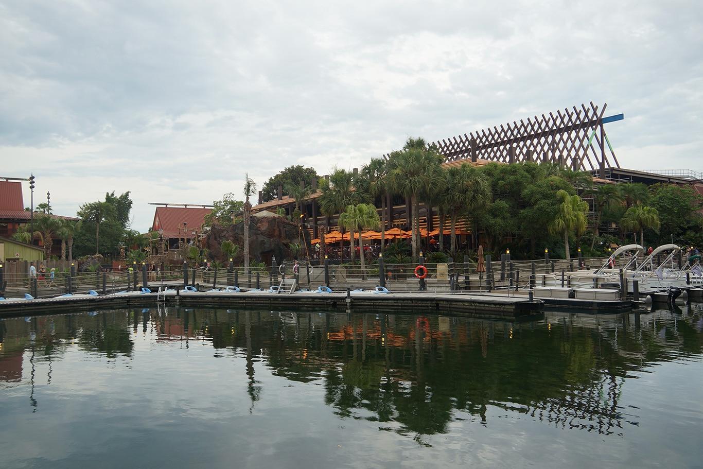 Disney's Polynesian Villas and Bungalows Outside