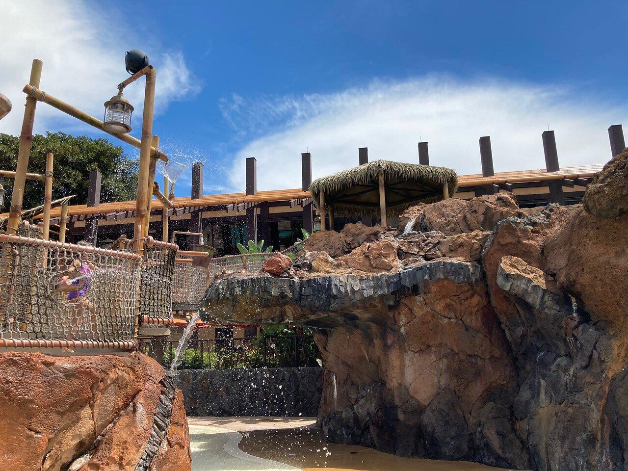 Disney's Polynesian Villas and Bungalows Pool Area