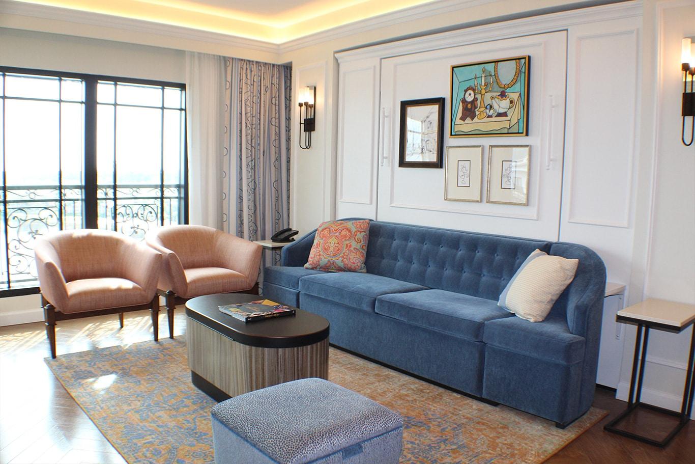 Disney's Riviera Resort Living Room