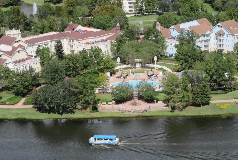 Disney's Saratoga Springs Resort and Spa Aerial