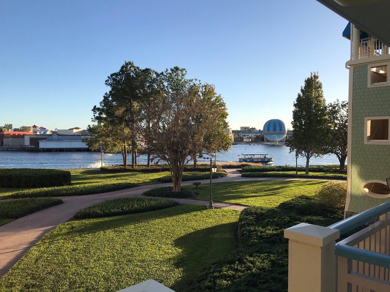 Disney's Saratoga Springs Resort and Spa Balcony View