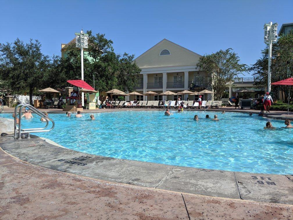 Disney's Saratoga Springs Resort and Spa Pool Area