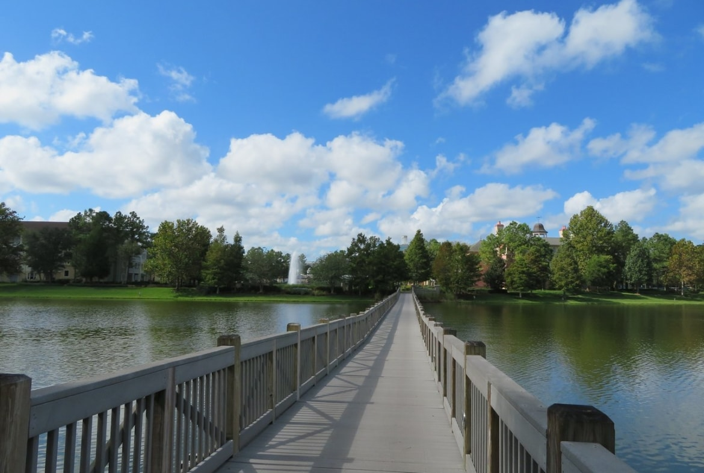 Disney's Saratoga Springs Resort and Spa Walk Way