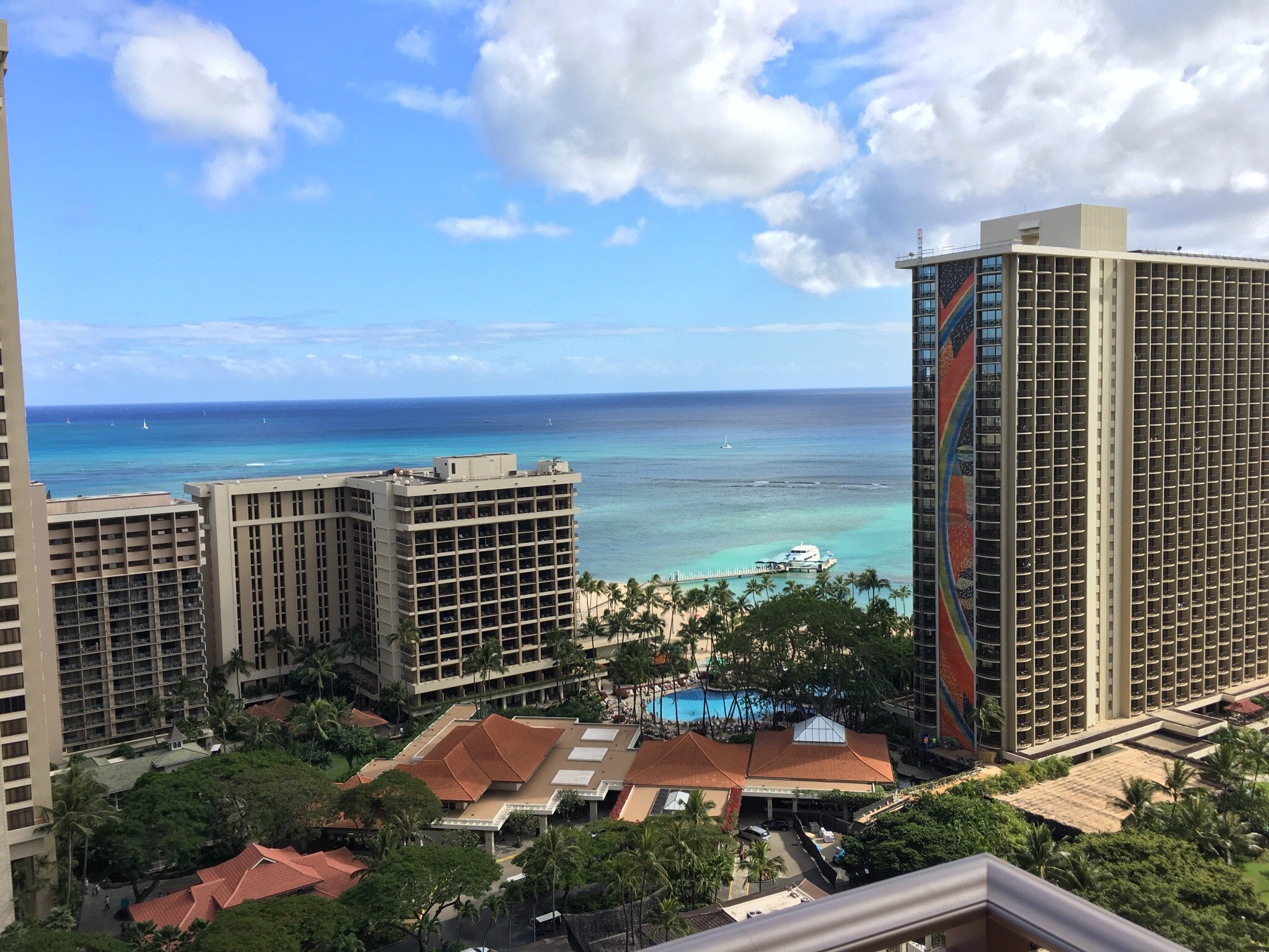 Grand Waikikian by Hilton Grand Vacations Balcony