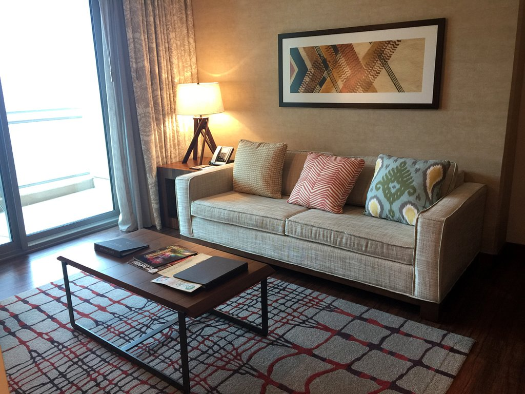 Hilton Grand Vacations The Grand Islander Living Room