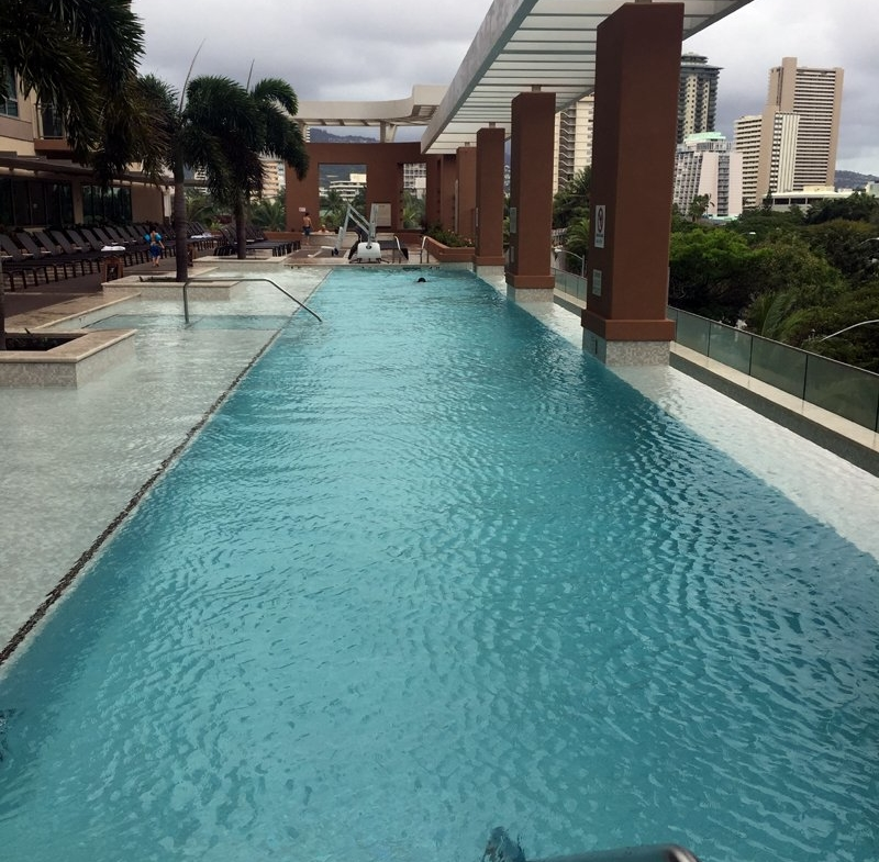 Hilton Grand Vacations The Grand Islander Pool