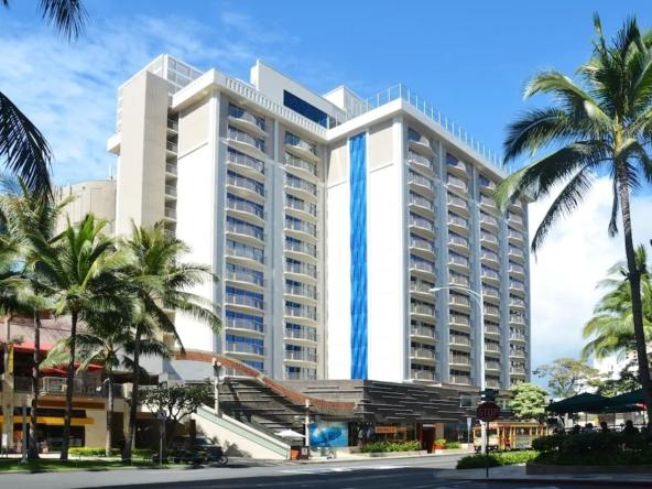 Hokulani Waikiki By Hilton Grand Vacations Exterior