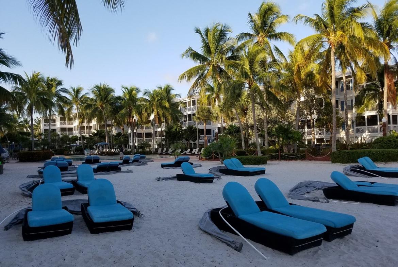 Hyatt Beach House Resort Lounge Area