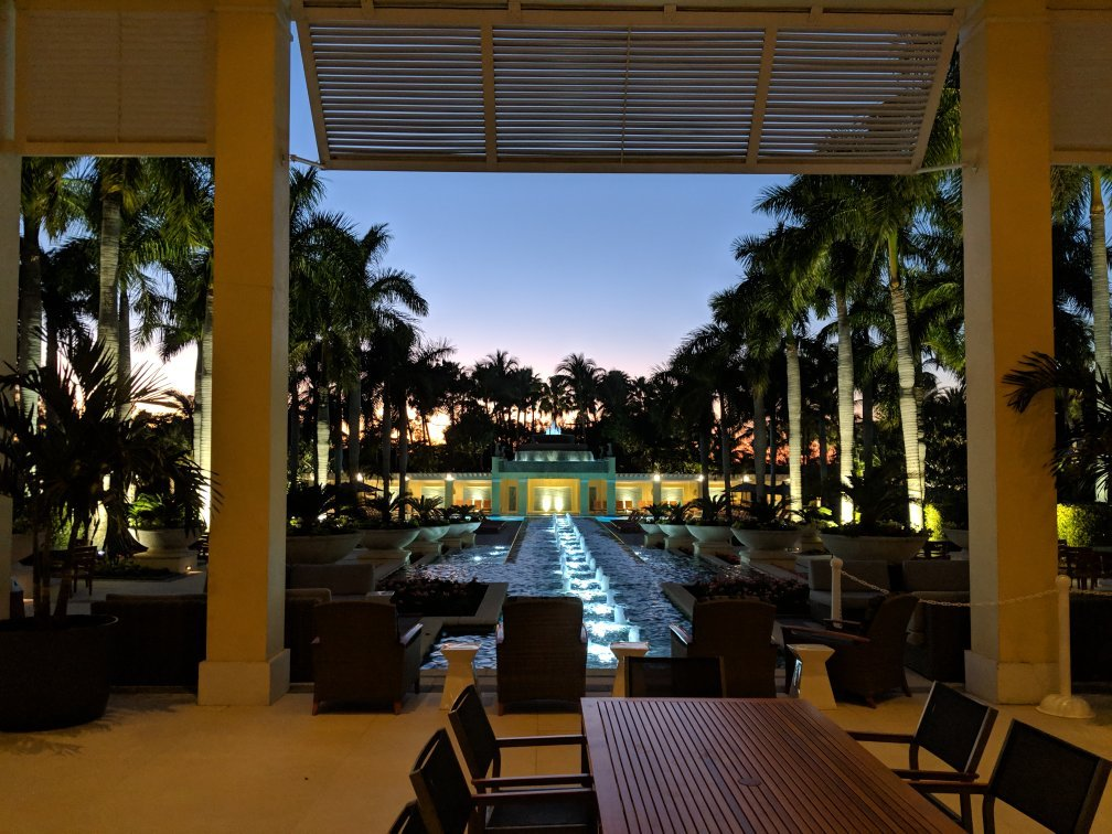 Hyatt Coconut Plantation Resort Outside Area