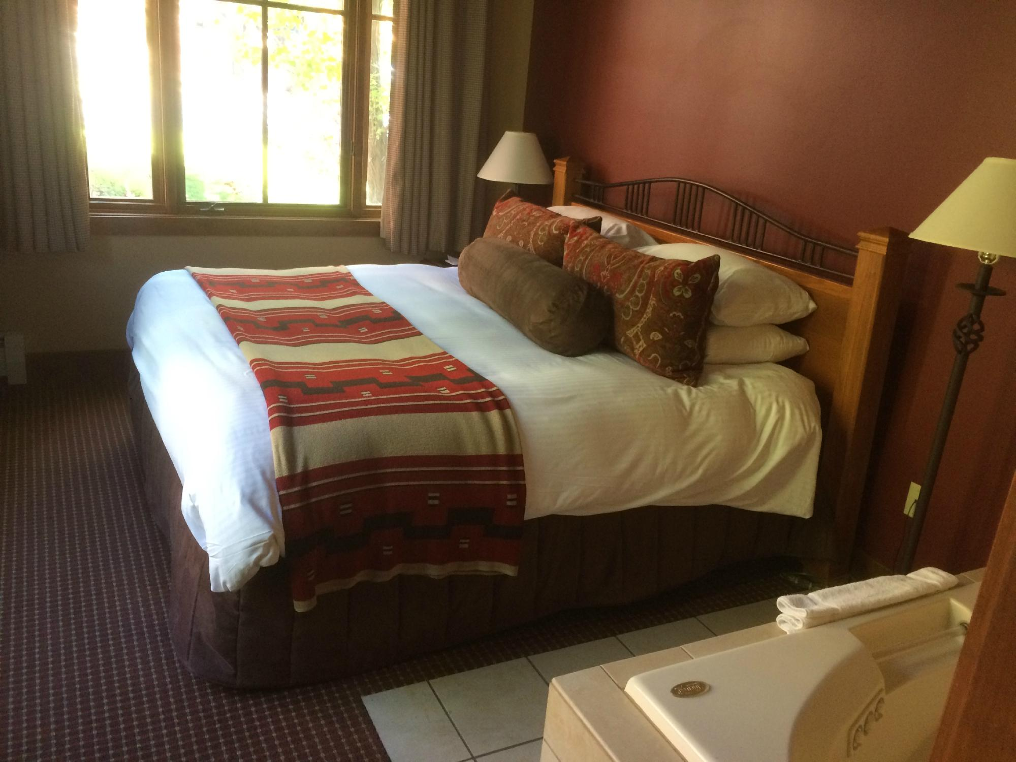 Hyatt High Sierra Lodge Bedroom