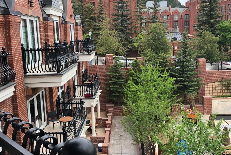 Hyatt Residence Club Grand Aspen Balcony