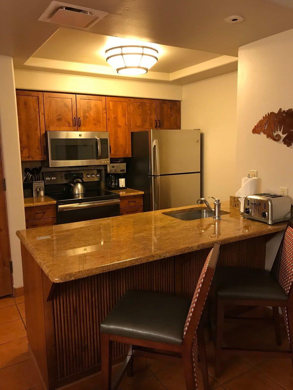 Hyatt Residence Club Sedona Pinon Pointe Kitchen