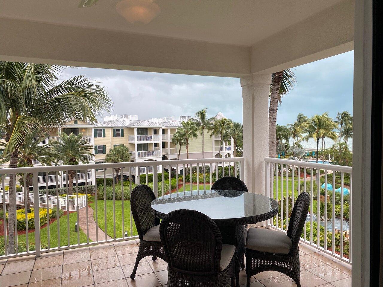 Hyatt Windward Pointe Resort Balcony