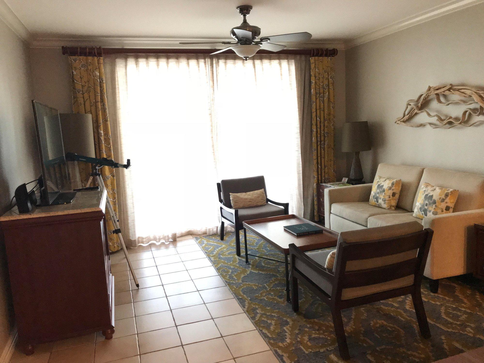 Hyatt Windward Pointe Resort Living Room