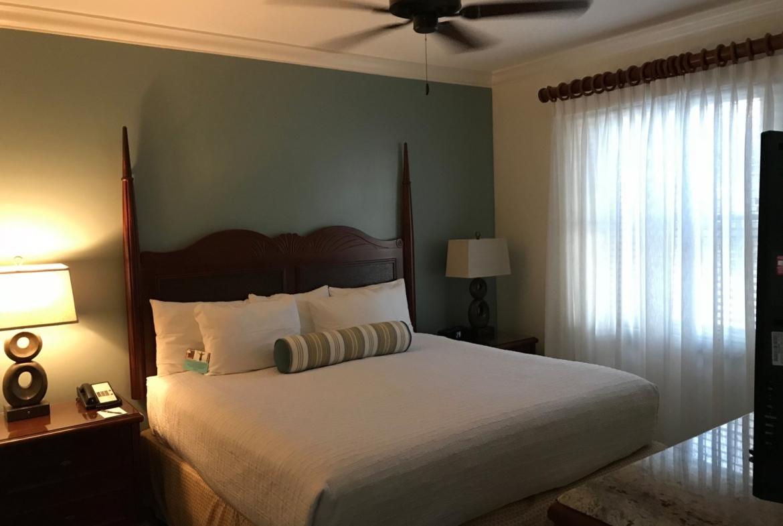 Hyatt Windward Pointe Resort Master Bedroom