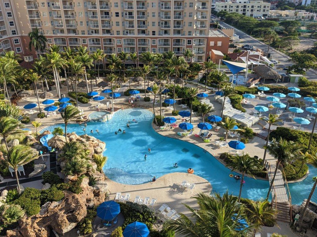 Marriott's Aruba Surf Club Balcony