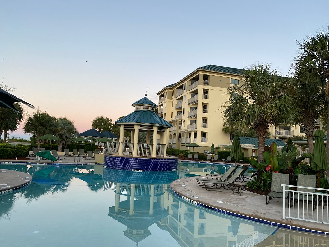 Marriott's Barony Beach Club Pool Area