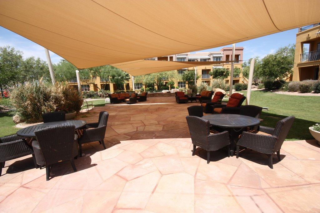 Marriott's Canyon Villas At Desert Ridge Outside Rest