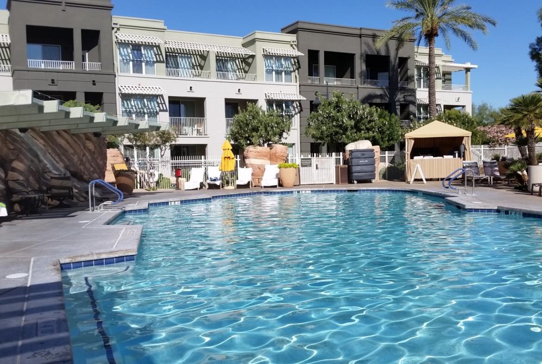 Marriott's Canyon Villas At Desert Ridge Pool Area