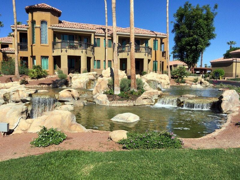 Marriott's Desert Springs Villas II Water Feature