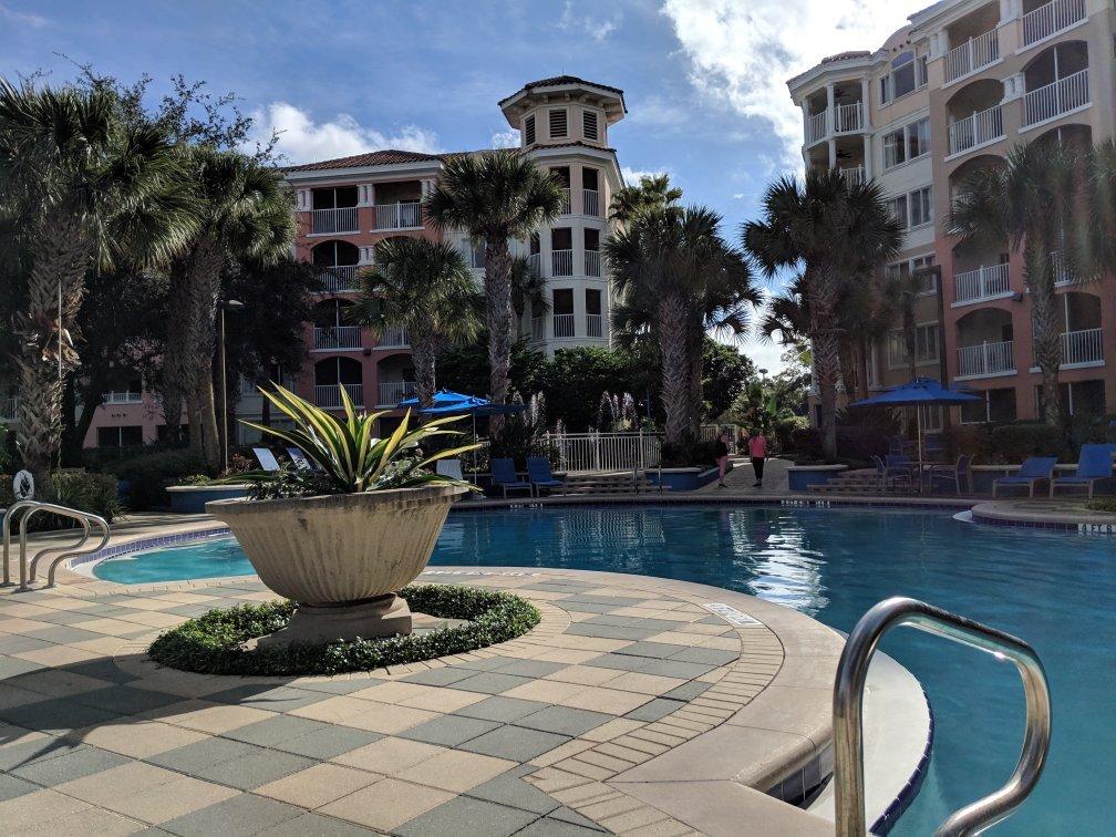 Marriott's Grande Vista Pool Area
