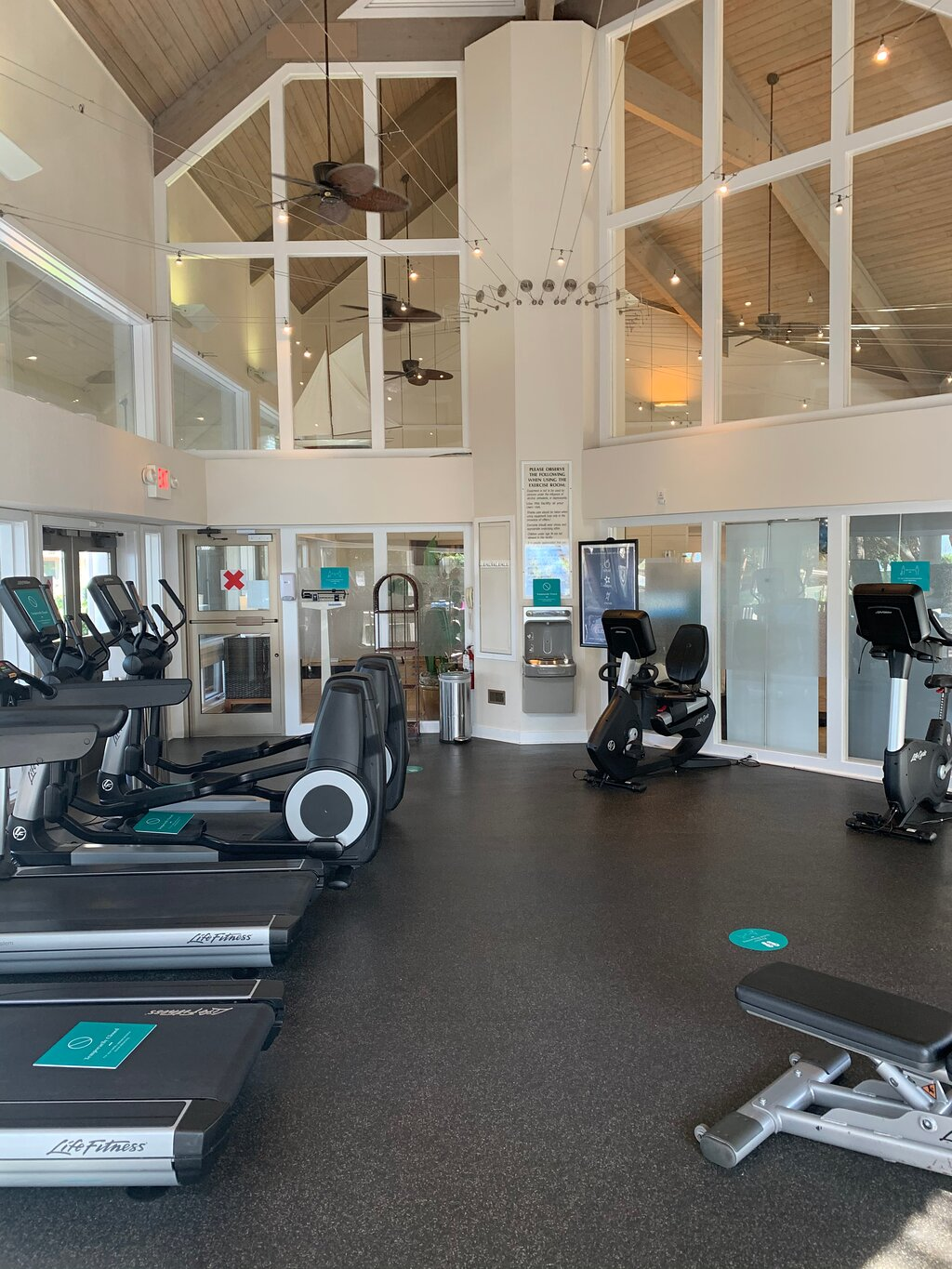 Marriott's Monarch at Sea Pines Fitness Center