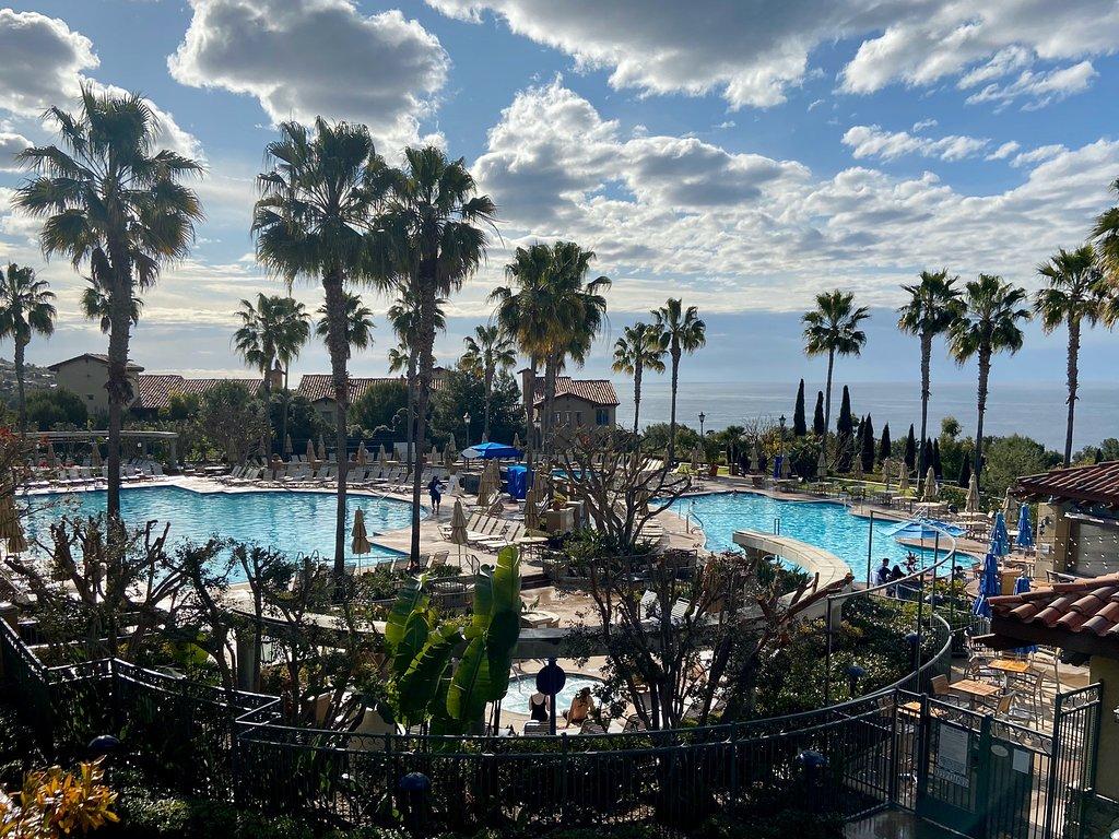 Marriott's Newport Coast Villas Outside Overhead